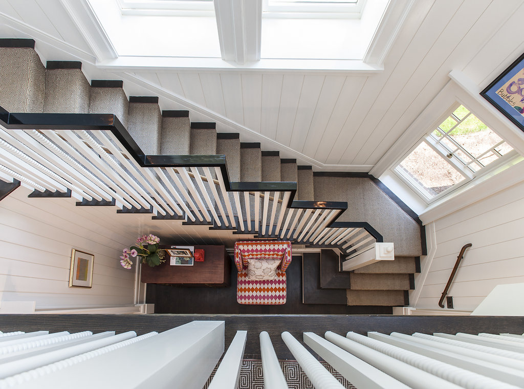 04a. Stair Front Hall – from Above