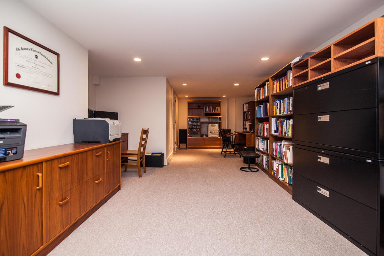 25. basement library
