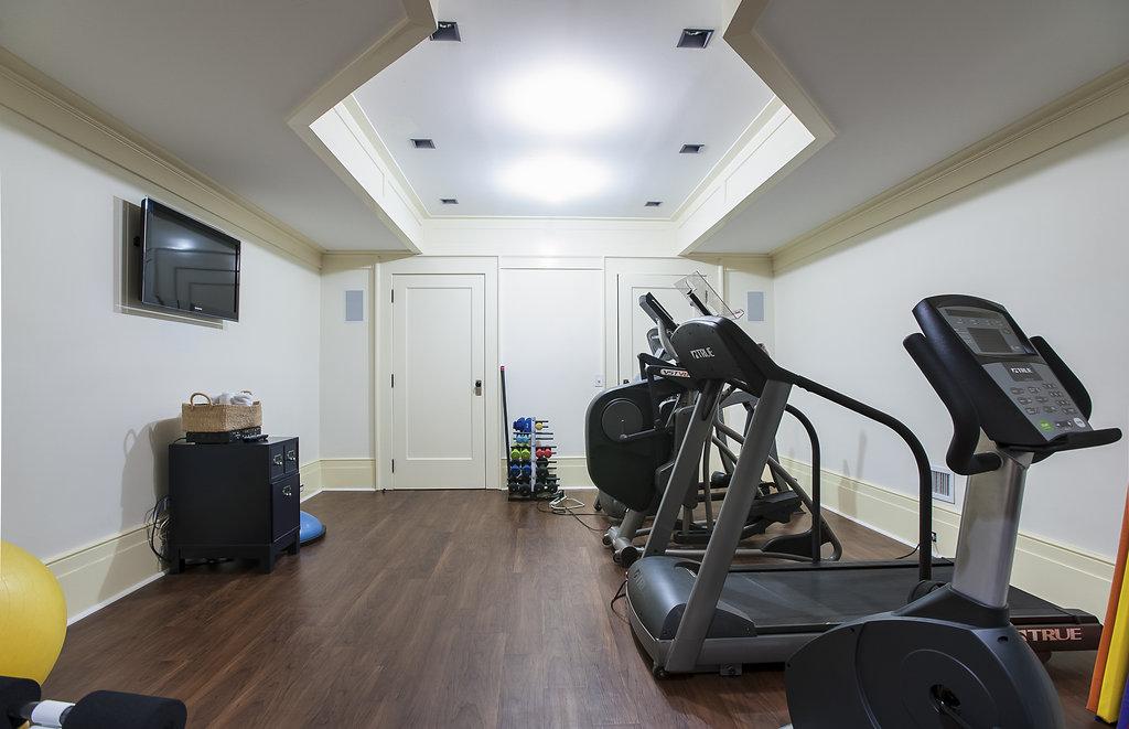 42. Basement – Exercise Room