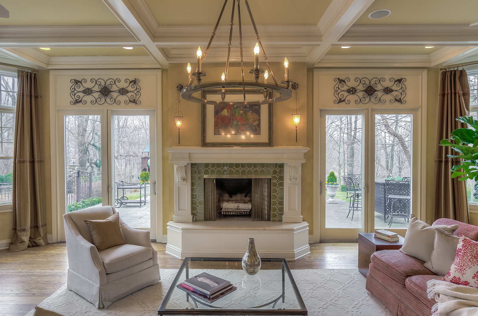 08g. Family Room to Fireplace – DIRECT copy 2
