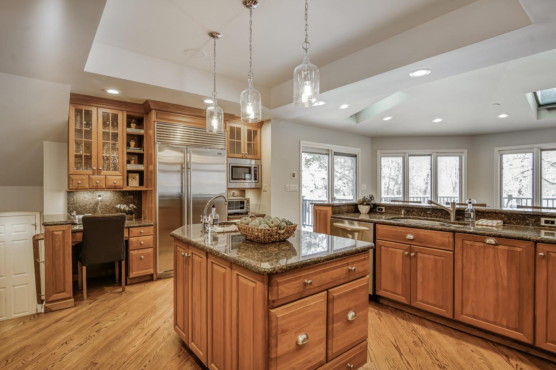 6. Gourmet Kitchen with Granite Island