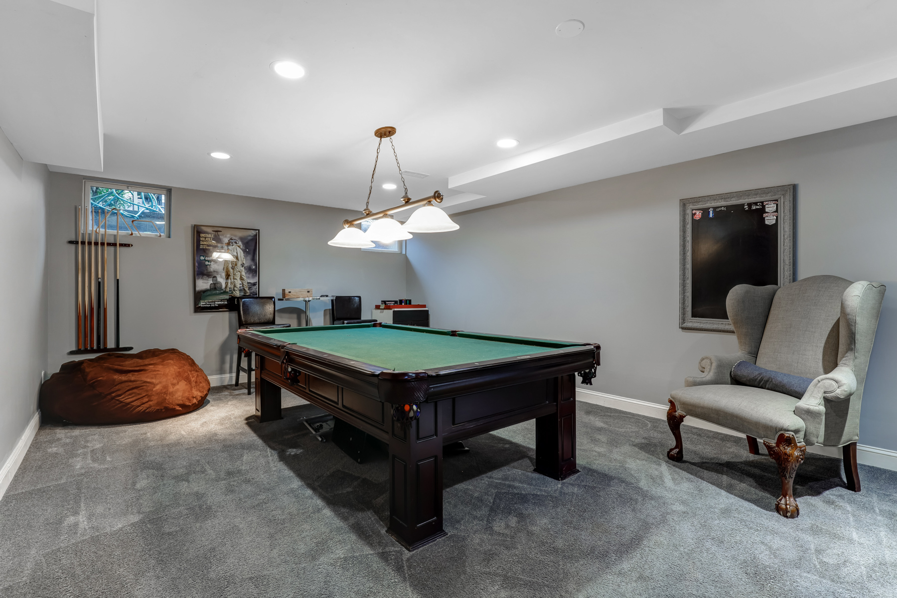 19b. Rec Room-Pool Table Only-33HobartAve-70_1_2