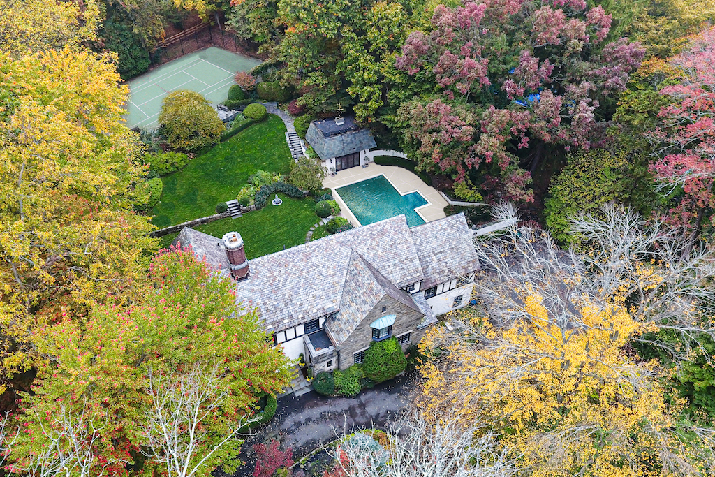 UNDER CONTRACT! • English Style Estate • 40 Twin Oak Road, Short Hills • $3,195,000