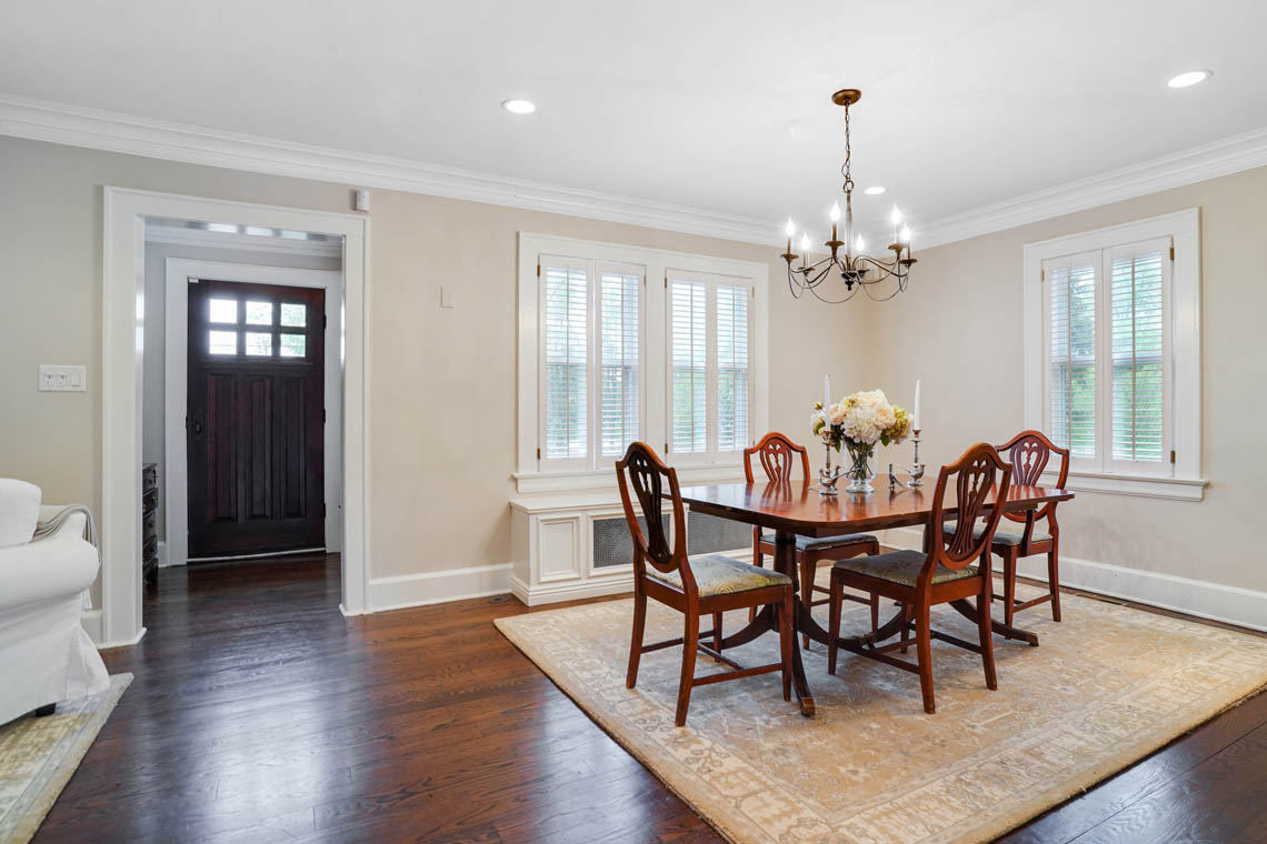 2. foyer to dining room